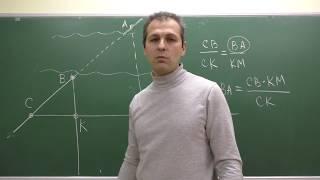Геометрия 8. Урок 7 - Теорема Фалеса - теория