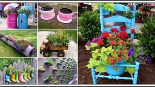 Bahçe Dekorasyonu Kendin Yap (Bahçe Süsleme) Bahçe dekorasyon fikirleri