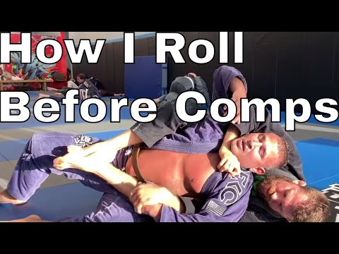 Lazy Rolling The Week of A BJJ Competition (Save Energy & Avoid Injuries)