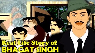 """Real Life Story Of  """"Bhagat Singh"""" Part 1  