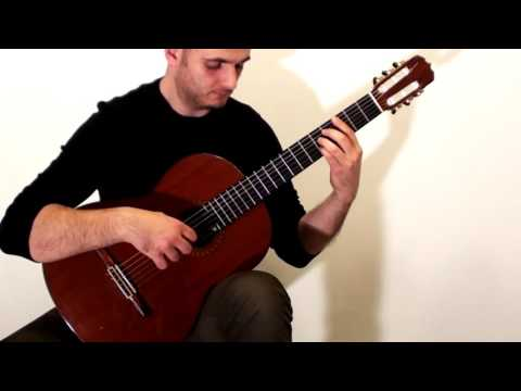 Lacrimosa from Mozarts Requiem: Classical Guitar