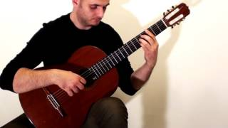 Lacrimosa from Mozart's Requiem: Classical Guitar Cover