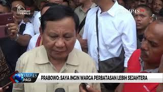 Prabowo Ikuti Perayaan Natal Bersama Warga Perbatasan