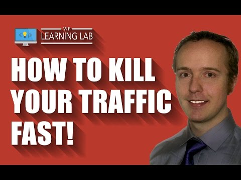 What happens to traffic when Discourage Search Engines From Indexing this site is active