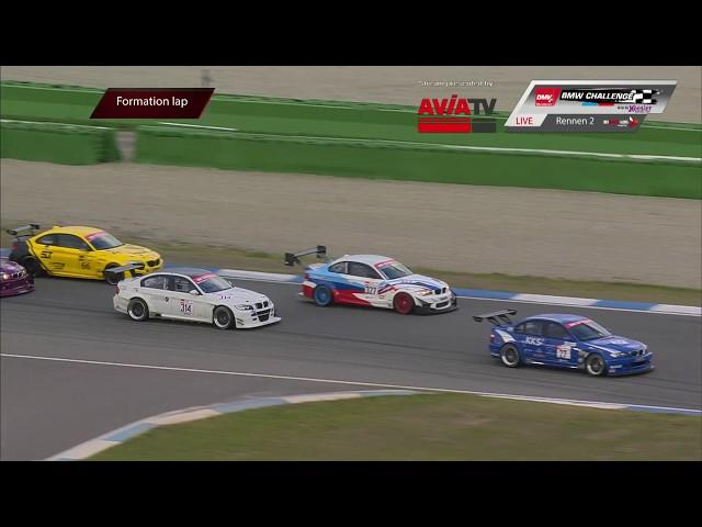 DMV BMW Challenge live vom Hockenheimring 06.10.2018