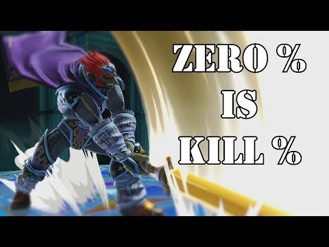 Zero % Is Kill % - Smash Ultimate Ganondorf Montage - YouTube