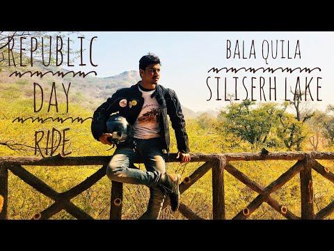 REPUBLIC DAY|ONE DAY RIDE|SOLO RIDER|DELHI|RAJASTHAN|ALWAR|BALA QUILA|SILISERH LAKE|RE CLASSIC 350|
