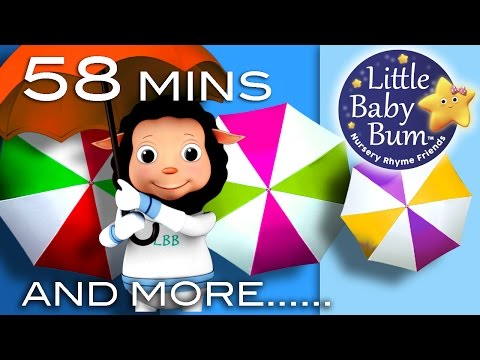 Rain Rain Go Away  Plus Lots More Nursery Rhyme s  58 Minutes Compilati from LittleBaBum!