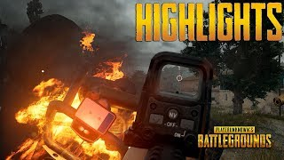 PUBG Highlights #5 - Best Plays and Unbelievable Moments (PlayerUnknown's Battlegrounds)