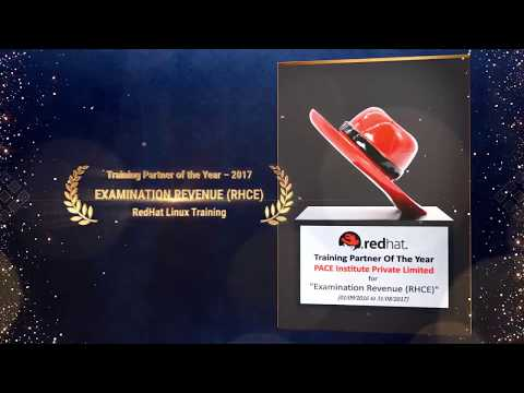 PACE Institute Is Awarded by Red Hat as the Training Partner of the Year – 2017