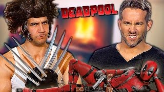 DEADPOOL vs WOLVERINE -  Ryan Reynolds  funny as hell