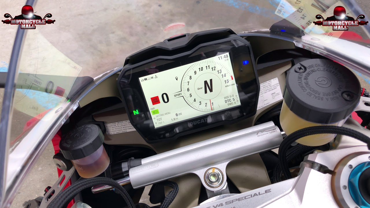 2018 Ducati Panigale V4 Speciale 365 First Look Youtube