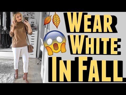 HOW TO WEAR WHITE IN FALL/WINTER: tips from a stylist