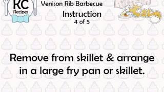 Venison Rib Barbecue - Kitchen Cat