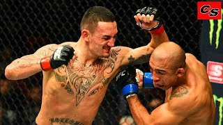Max Holloway MMA fighter with a crazy speed