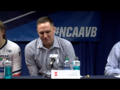 Illinois Volleyball | Elite Eight Press Conference