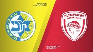 Maccabi FOX Tel Aviv - Olympiacos Piraeus Highlights | Turkish Airlines EuroLeague, RS Round 26