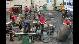 Kentucky Bourbon Aids Scotch Whisky at a Sweaty Cooperage