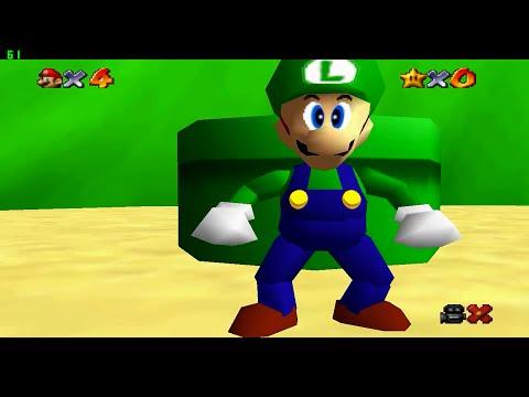 Luigi In Super Mario 64 Super Luigi 64 Download