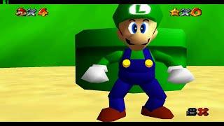 Luigi in Super Mario 64   Super Luigi 64 (Download)