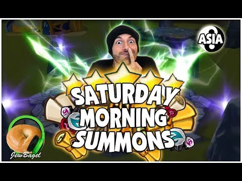SUMMONERS WAR : Saturday Morning Summons 8/26/17 - PART 3 ASIA