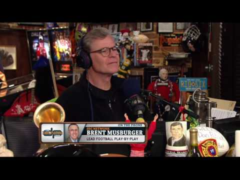 Brent Musburger invites the guys to his house (6/3/16)