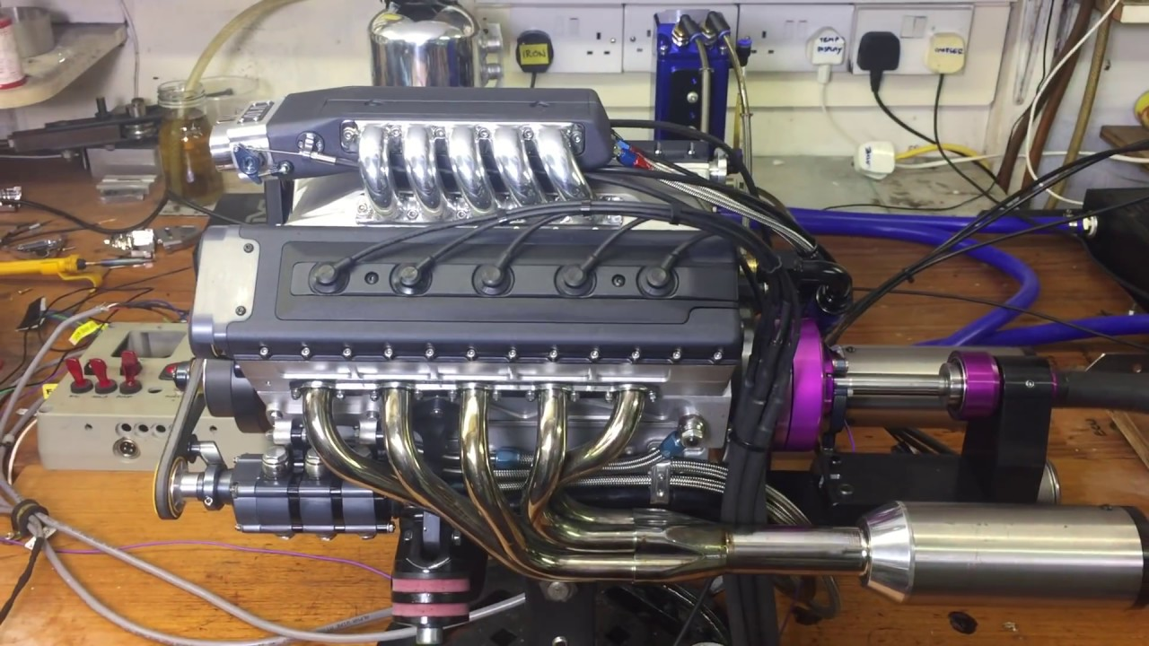 Model V10 Engine Electronic Fuel Injection