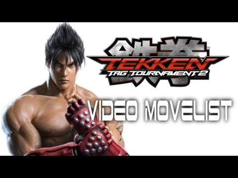 Tekken Tag Tournament 2 - Jin Video Movelist