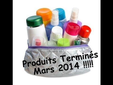 Produits Terminés Mars 2014