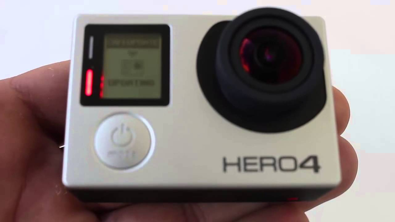 how to check firmware on gopro 4 silver