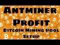 Antminer s9 setup to bitcoin.com mining pool -Antminer Profit- Anmtiner s9 profits