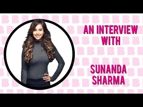 An Interview With   Sunanda Sharma - YouTube