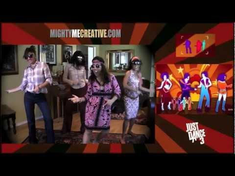 """BOOGIE WONDERLAND"" Just Dance 3 (Kinect) - MightyMeCreative"
