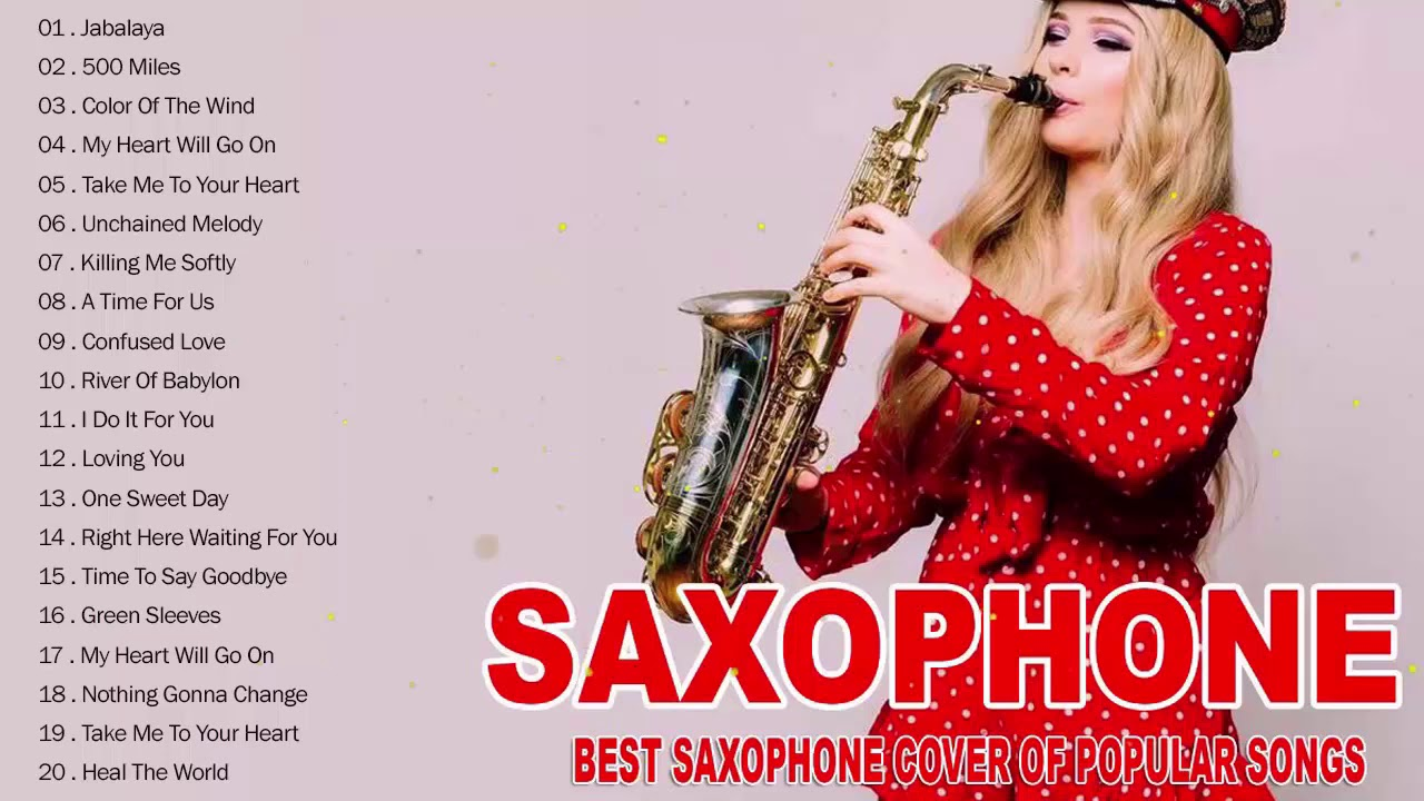 Las Canciones De Saxofón Románticas Más Bellas La Mejor Música En Inglés De Todos Los Tiempos Youtube
