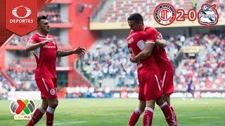 Canelo da el triunfo al Toluca | Toluca 2 - 0 Puebla| Clausura 2019 - Jornada 2 | Televisa Deportes