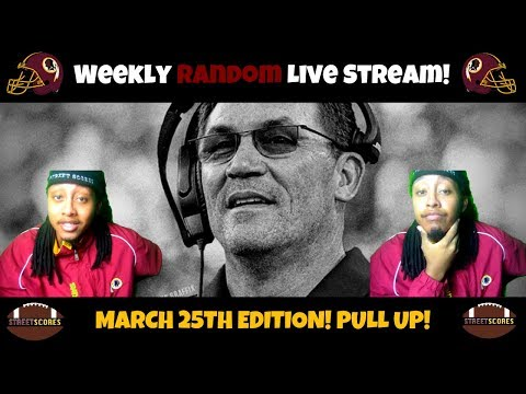 ✌Rico's Weekly Random Live Streams! March 25th Edition! Free Agency Opinion! Draft Talk & More! ✌