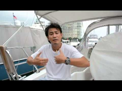 Living on a boat: Darren Lim and Evelyn Tan