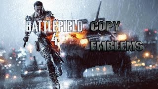 HOW TO: Copy Emblems in BF4