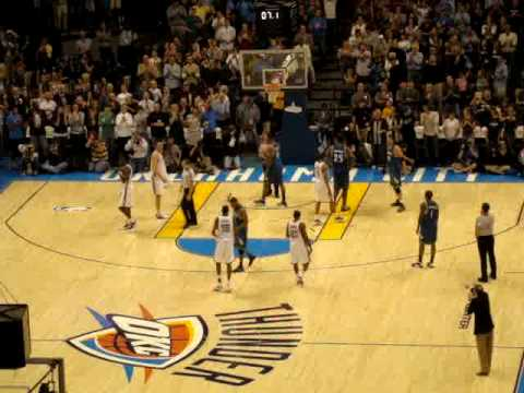 Oklahoma City Thunder wins first game of team's history ...