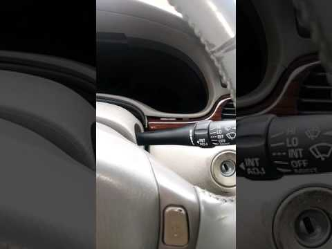 2001 Cadillac Seville Dashboard Removing Check Engine Light Issues