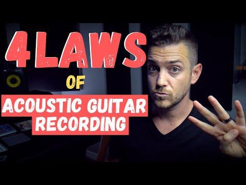 4 Laws of Acoustic Guitar Recording – RecordingRevolution.com