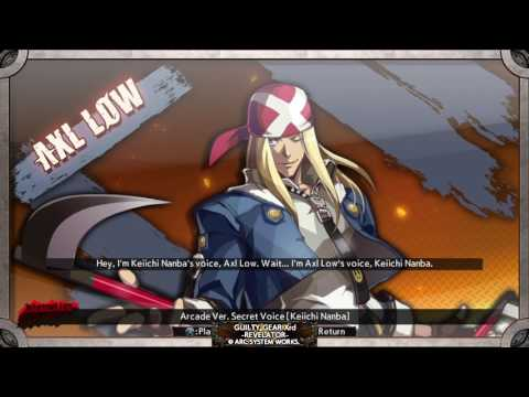 Guilty Gear Xrd -Rev 2 / Revelator | Actors Commentary | Seiyuu |  Voices
