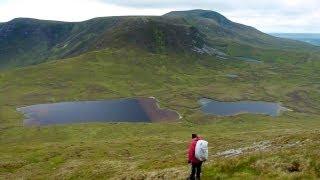 A 28km trek from the Brogan Carroll Bothy via Nephin Beg to Slieve ...