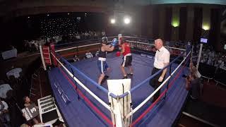 Newcastle | Ultra White Collar Boxing | Tara Caffrey VS Carly Wilson