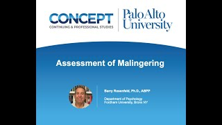 Assessment of Malingering Online Training Program