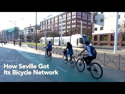 How Seville Got Its Bicycle Network
