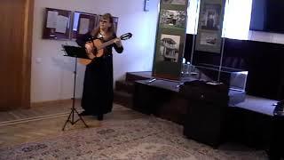 Наталия Муравьева Песни о войне под гитару (Фрагмент) Музей-усадьба Н.Г.Чернышевского