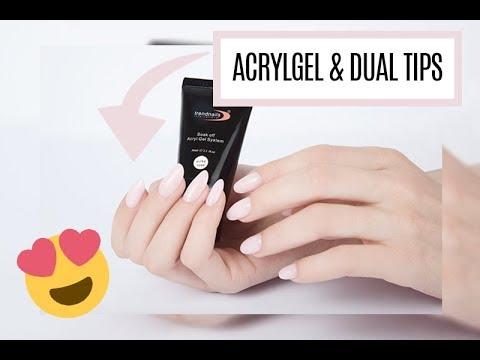 Verlängerung Mit Acrylgel Und Dual Tips Anleitung
