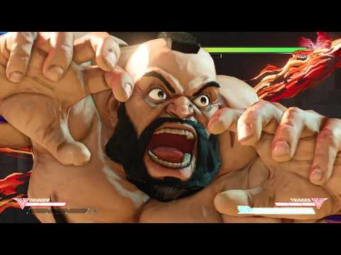 Street Fighter 5 - All Critical Art Attacks (All Characters Ultimate Attacks) - 동영상