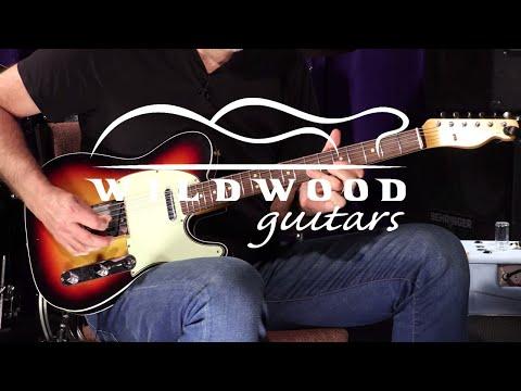 Fender Custom Shop Wildwood 10 1962 Telecaster Custom - Journeyman Relic  •  SN: R98450